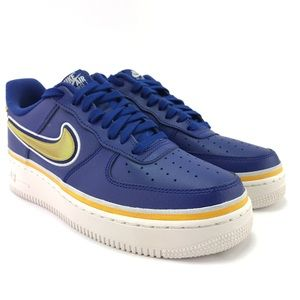 Nike Mens Air Force 1 '07 LV8 Sport Royal Shoes